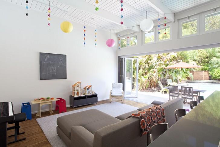 Family Room , Nice  Midcentury Accordion Room Dividers Picture Ideas : Nice  Midcentury Accordion Room Dividers Picture Ideas
