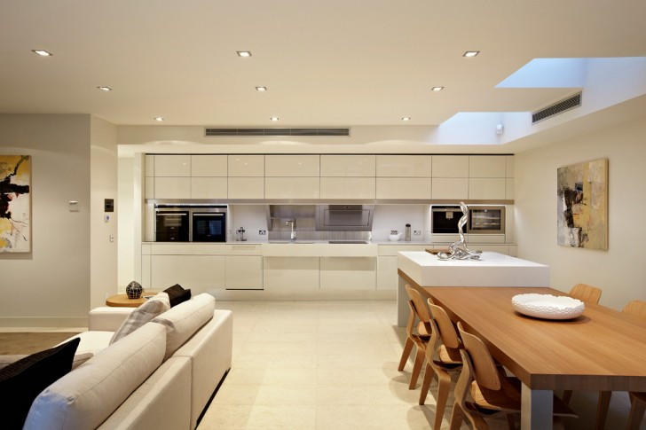Kitchen , Breathtaking  Contemporary Breakfast Dining Tables Image : Stunning  Contemporary Breakfast Dining Tables Picture