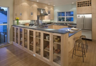990x782px Stunning  Contemporary Kitche Cabinets Picture Ideas Picture in Kitchen
