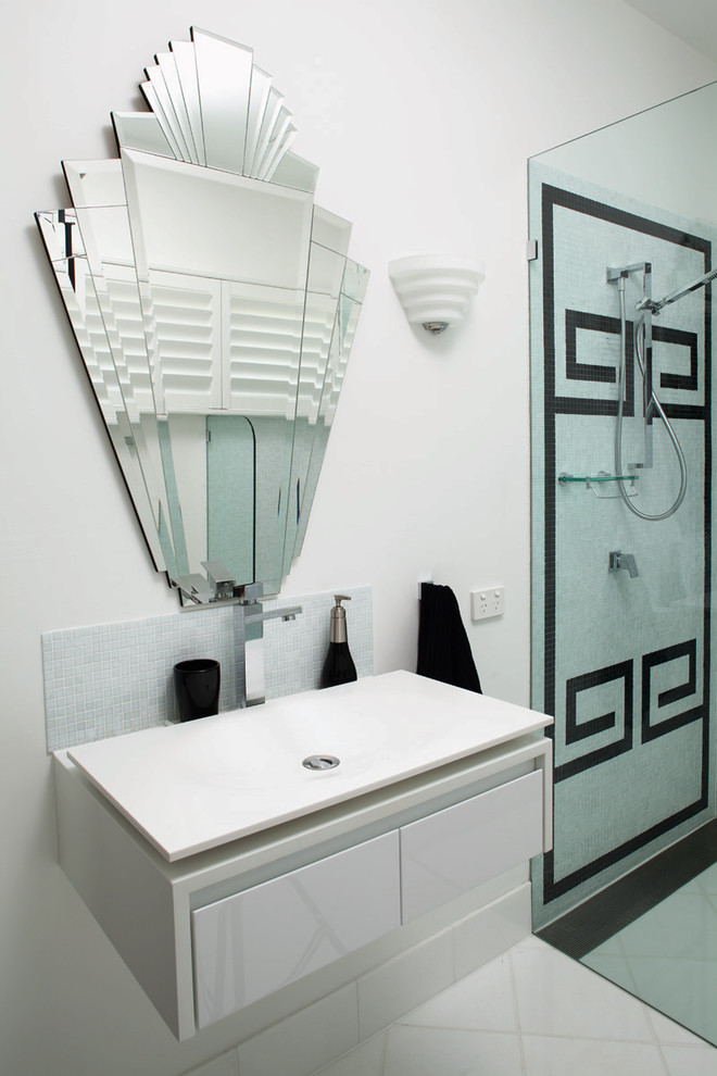 Bathroom , Charming  Contemporary Small Bathroom Designs With Shower Stall Image Inspiration : Stunning  Contemporary Small Bathroom Designs with Shower Stall Photo Inspirations
