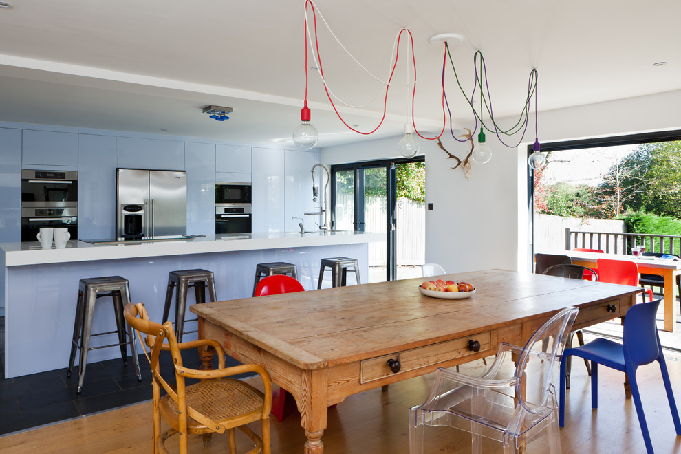 990x660px Awesome  Contemporary Wooden Kitchen Tables And Chairs Picture Ideas Picture in Kitchen