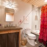 Stunning  Farmhouse Tier Curtains for Bathroom Photo Ideas , Stunning  Transitional Tier Curtains For Bathroom Ideas In Bathroom Category
