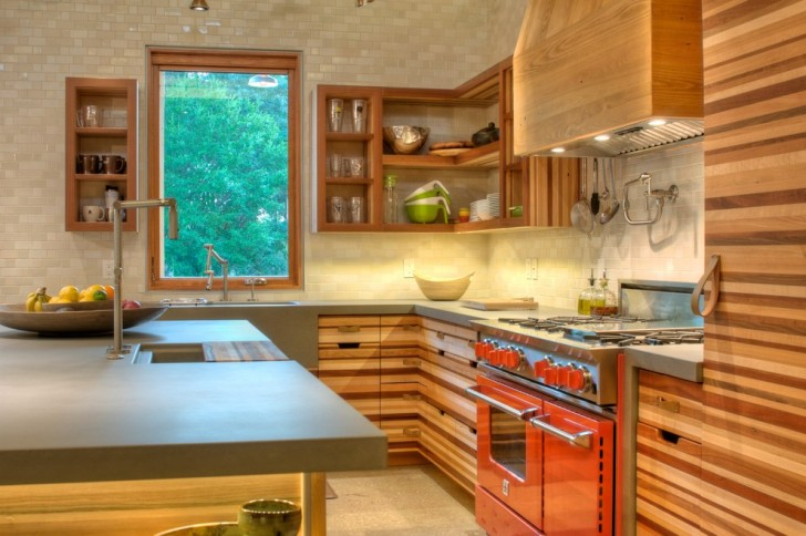 Kitchen , Lovely  Modern Kitchen Cabinets Custom Image Ideas : Stunning  Modern Kitchen Cabinets Custom Picture Ideas