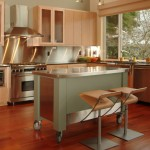 Stunning  Modern Rolling Island Cart Image , Cool  Contemporary Rolling Island Cart Image Ideas In Kitchen Category