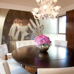 Stunning  Modern Round Dining Room Table and Chairs Photo Inspirations , Stunning  Contemporary Round Dining Room Table And Chairs Image In Dining Room Category