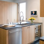 Kitchen , Lovely  Traditional Stainless Steel Microwave Stand Image Ideas : Stunning  Modern Stainless Steel Microwave Stand Picture Ideas
