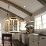 Stunning  Rustic Kitchen with Vaulted Ceilings  Ideas , Cool  Traditional Kitchen With Vaulted Ceilings  Ideas In Kitchen Category