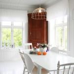 Stunning  Scandinavian White Kitchen Dining Sets Image Ideas , Lovely  Contemporary White Kitchen Dining Sets Image In Dining Room Category