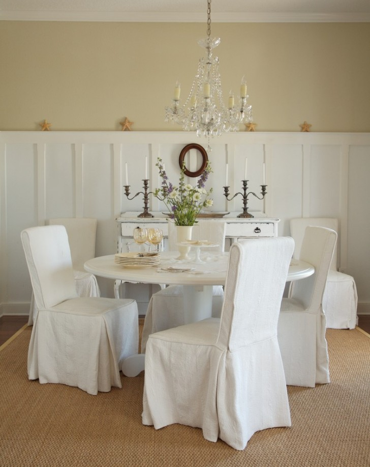 Dining Room , Stunning  Shabby Chic In Tables Furniture Photo Inspirations : Stunning  Shabby Chic in Tables Furniture Image