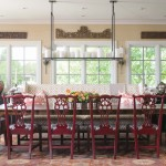 Stunning  Traditional Banquette Dining Room Furniture Photo Ideas , Cool  Midcentury Banquette Dining Room Furniture Inspiration In Living Room Category