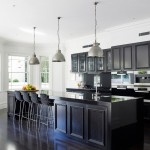 Stunning  Traditional Black Cabinets Kitchen Image Ideas , Stunning  Traditional Black Cabinets Kitchen Image Inspiration In Kitchen Category
