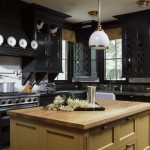 Stunning  Traditional Kitchen Cabinets Black Photo Inspirations , Stunning  Rustic Kitchen Cabinets Black Image Inspiration In Kitchen Category