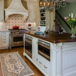 Stunning  Traditional Kitchen Island with Microwave Photos , Charming  Beach Style Kitchen Island With Microwave Picture Ideas In Kitchen Category