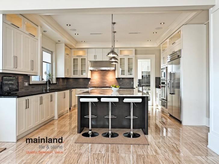 Kitchen , Breathtaking  Transitional Durastone Countertops Photo Ideas : Stunning  Transitional Durastone Countertops Image Ideas