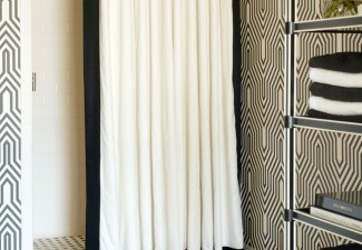 658x990px Stunning  Transitional Tier Curtains For Bathroom Ideas Picture in Bathroom