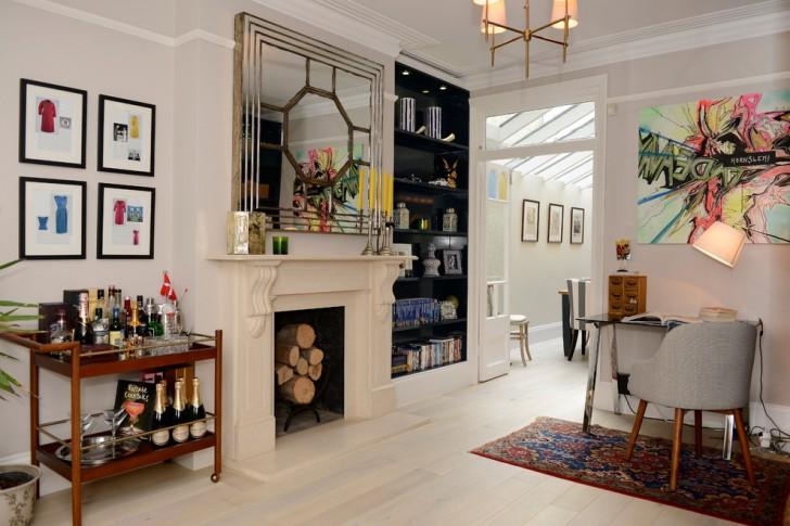 Home Office , Lovely  Victorian Corner Kitchen Cart Photo Ideas : Stunning  Victorian Corner Kitchen Cart Image Ideas