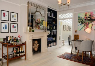 990x660px Lovely  Victorian Wooden Bar Cart Image Picture in Home Office