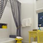Wonderful  Beach Style Bathroom Shower Curtain Ideas Designs Image Ideas , Lovely  Transitional Bathroom Shower Curtain Ideas Designs Image Ideas In Bathroom Category