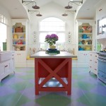 Wonderful  Beach Style White Kitchen Island with Butcher Block Top Photo Inspirations , Breathtaking  Farmhouse White Kitchen Island With Butcher Block Top Photo Ideas In Kitchen Category