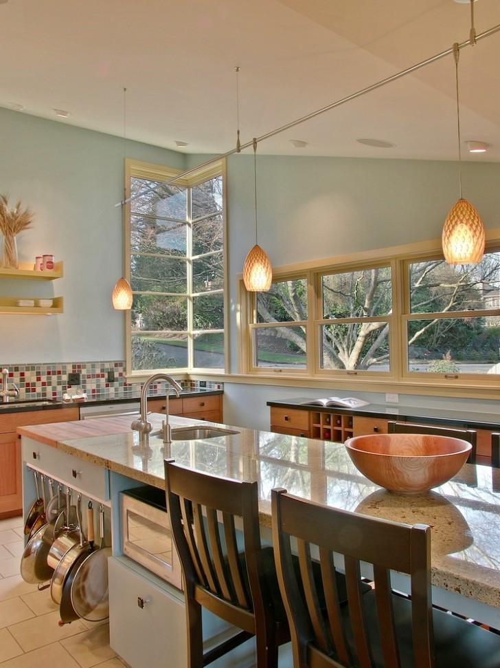 Kitchen , Breathtaking  Contemporary Butcher Block Cabinets Ideas : Wonderful  Contemporary Butcher Block Cabinets Image Ideas