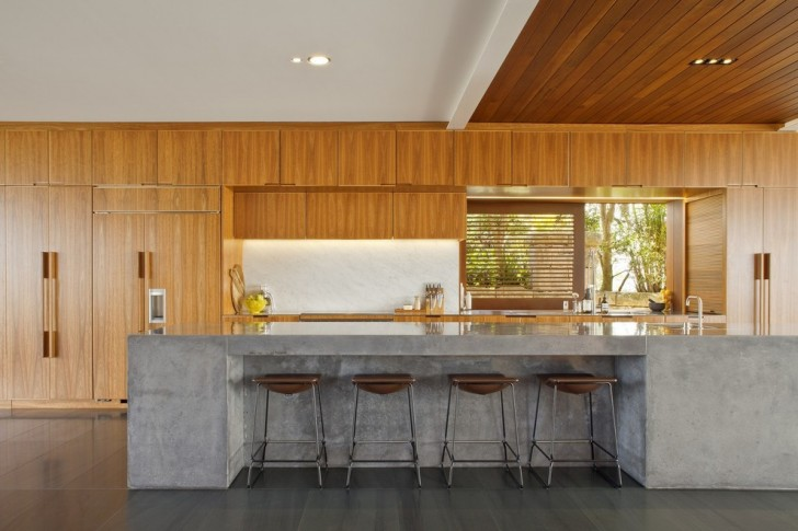 Kitchen , Charming  Contemporary Concrete Countertop Grinder Image Ideas : Wonderful  Contemporary Concrete Countertop Grinder Image Inspiration