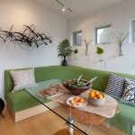 Wonderful  Contemporary Corner Kitchen Booth Picture Ideas , Charming  Contemporary Corner Kitchen Booth Image In Dining Room Category