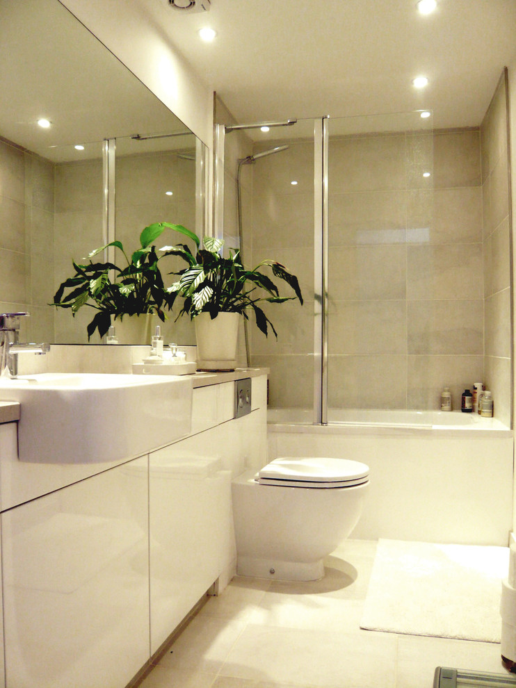 742x990px Cool  Contemporary Designs For Small Bathrooms With A Shower Image Picture in Bathroom