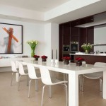 Wonderful  Contemporary Dining Set Table Photo Ideas , Charming  Contemporary Dining Set Table Image In Dining Room Category