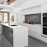 Kitchen , Lovely  Contemporary Ikea Kitchen White Inspiration : Wonderful  Contemporary Ikea Kitchen White Image