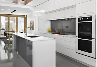 990x742px Lovely  Contemporary Ikea Kitchen White Inspiration Picture in Kitchen