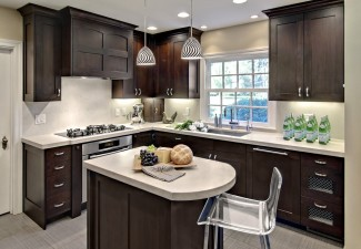 990x760px Beautiful  Contemporary Kitch Cabinets Image Picture in Kitchen