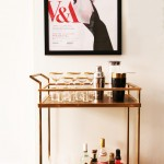 Wonderful  Contemporary Trolley Bar Cart Image Inspiration , Breathtaking  Contemporary Trolley Bar Cart Picture In Spaces Category
