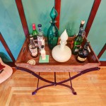 Wonderful  Craftsman Iron Bar Cart Ideas , Beautiful  Eclectic Iron Bar Cart Photo Inspirations In Dining Room Category