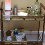 Wonderful  Eclectic Bar Cart Wood Photo Inspirations , Stunning  Traditional Bar Cart Wood Image In Bathroom Category