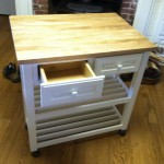 Wonderful  Farmhouse Rolling Butcher Block Cart Photo Inspirations , Beautiful  Farmhouse Rolling Butcher Block Cart Inspiration In Kitchen Category