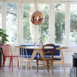 Wonderful  Scandinavian Set of Dining Chairs Picture , Fabulous  Eclectic Set Of Dining Chairs Image In Kitchen Category