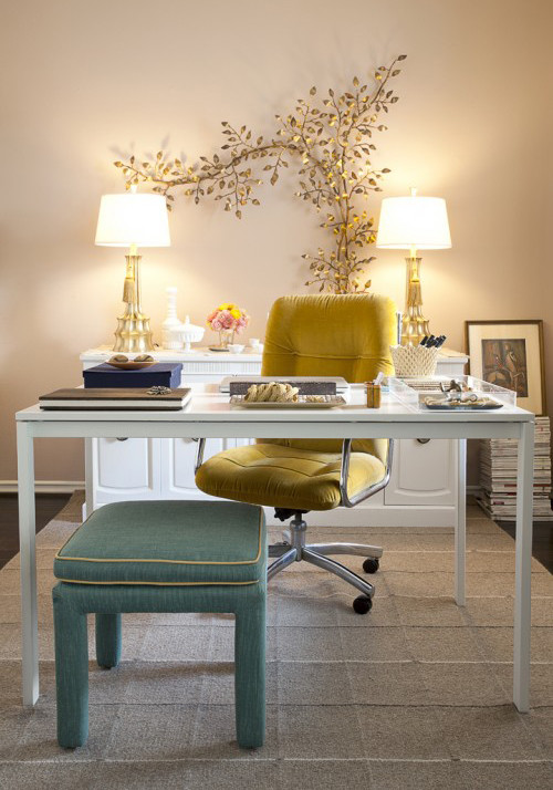 Home Office , Lovely  Shabby Chic Office Kitchen Tables Picture : Wonderful  Shabby Chic Office Kitchen Tables Photo Ideas