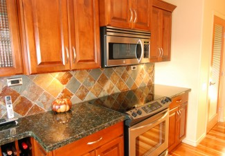662x990px Beautiful  Traditional Verde Butterfly Granite Countertops Image Picture in Kitchen