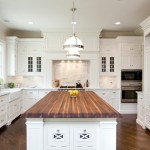 Wonderful  Traditional White Butcher Block Island Image , Cool  Traditional White Butcher Block Island Photo Inspirations In Kitchen Category