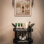 Wonderful  Transitional Black Bar Cart Inspiration , Awesome  Traditional Black Bar Cart Photo Inspirations In Kitchen Category