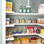 Wonderful  Transitional Oak Pantry Cabinets Kitchen Image Inspiration , Stunning  Farmhouse Oak Pantry Cabinets Kitchen Picture Ideas In Kitchen Category