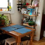 Wonderful  Transitional Small Kitchen Rack Picture Ideas , Lovely  Eclectic Small Kitchen Rack Photo Ideas In Kitchen Category