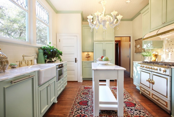 Kitchen , Lovely  Victorian Kitchen Cabinets And Design Picture : Wonderful  Victorian Kitchen Cabinets and Design Inspiration